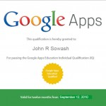 Google Apps Certified Trainer