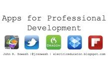 Webinar: Apps for Professional Development
