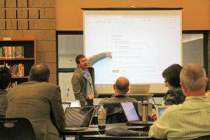 John Sowash at the Google Admin bootcamp