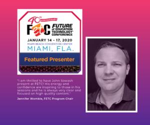 John Sowash - FETC Featured Speaker